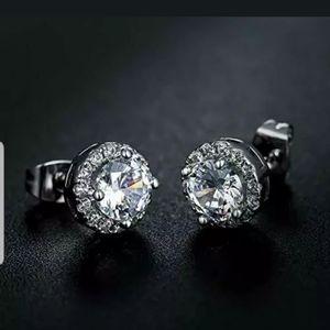 Swarovski Crystal Earrings 18K G Plated